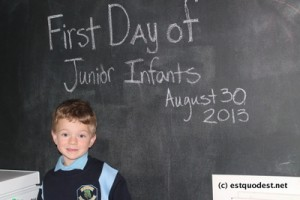 Big Day - First day of Junior Infants