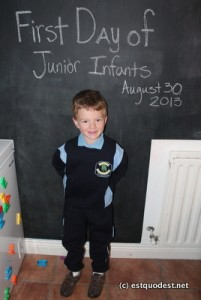 Isaac's First Day
